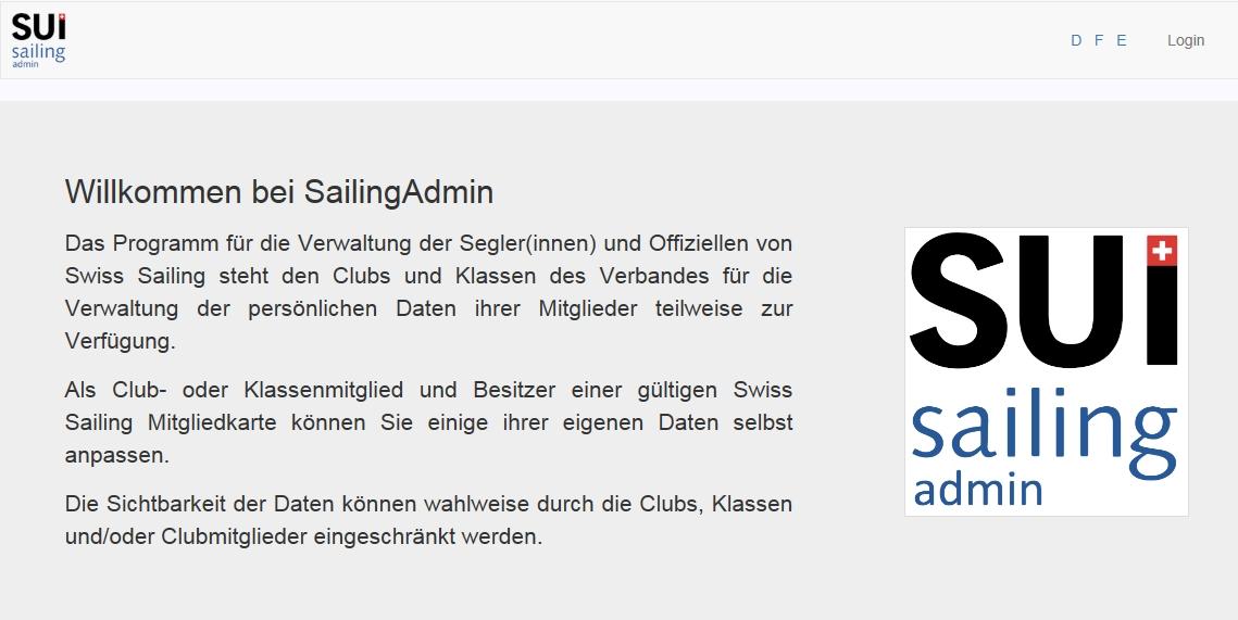 SailingAdmin